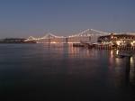 bay bridge pretty